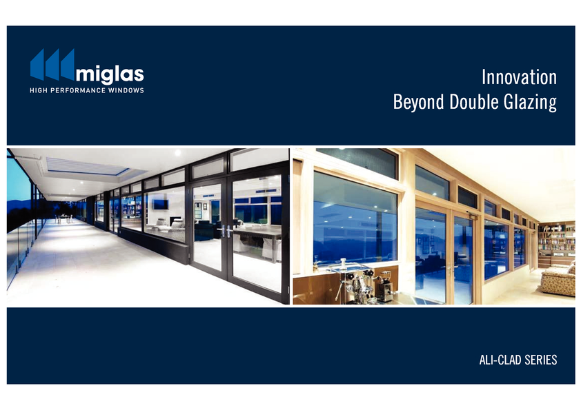 Browse Brochure: Miglas Ali-Clad Brochure