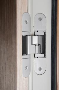 Concealed Hinges And Stainless Steel Locking Photo