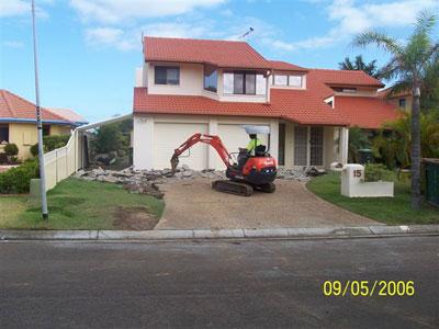 View Photo: Preparing The Driveway