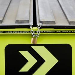 View Photo: Mobile Skips® lockable lids