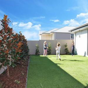 View Photo: Backyard privacy and acoustic SlimWall