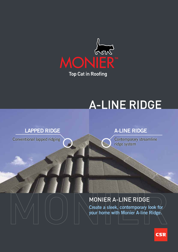 Browse Brochure: Monier A-Line Ridge
