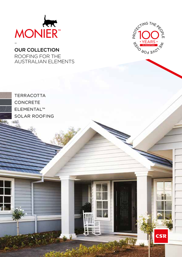 View Brochure: Monier Collections Brochure