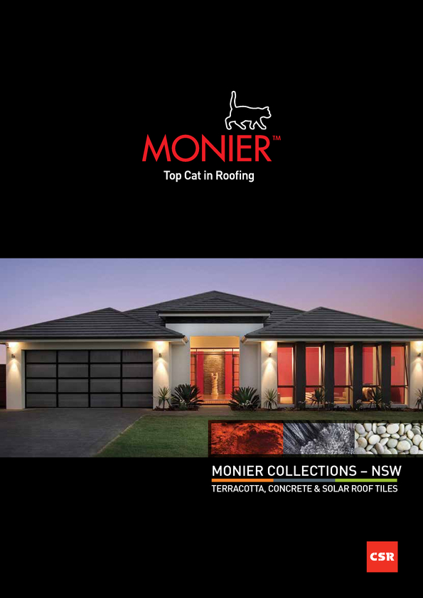 Browse Brochure: Monier Collections - NSW