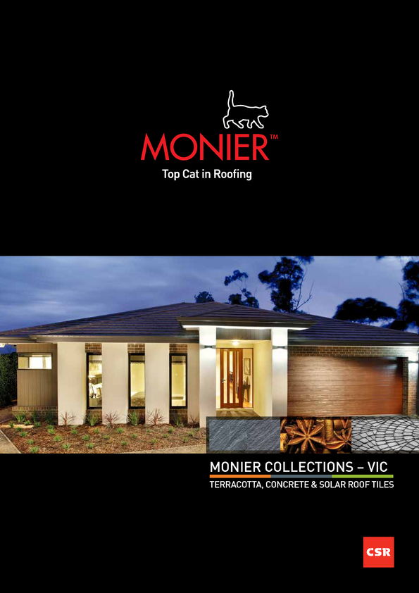 Browse Brochure: Monier Collections - VIC