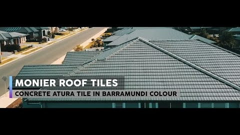 Watch Video: Monier Atura Roof Tiles – Featured on Open Homes Australia Season 3 Episode 9