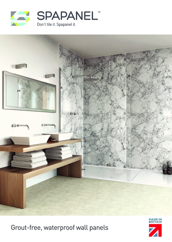 View Brochure: Spapanel brochure - Don't Tile it!  Spapanel it!