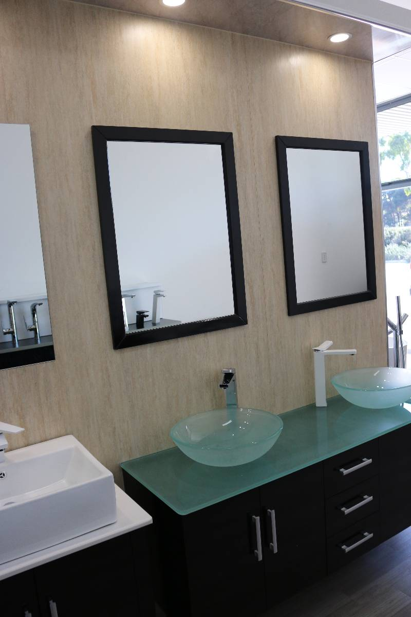 Bathroom Sinks Joondalup travertine matt - joondalup showroom photo : mr wet wall joondalup wa