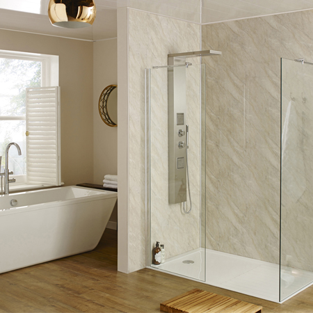 View Photo: Wet Wall Bathrooms