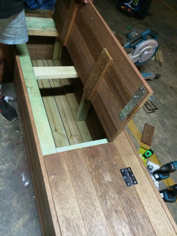 View Photo: Custom made wooden planter box