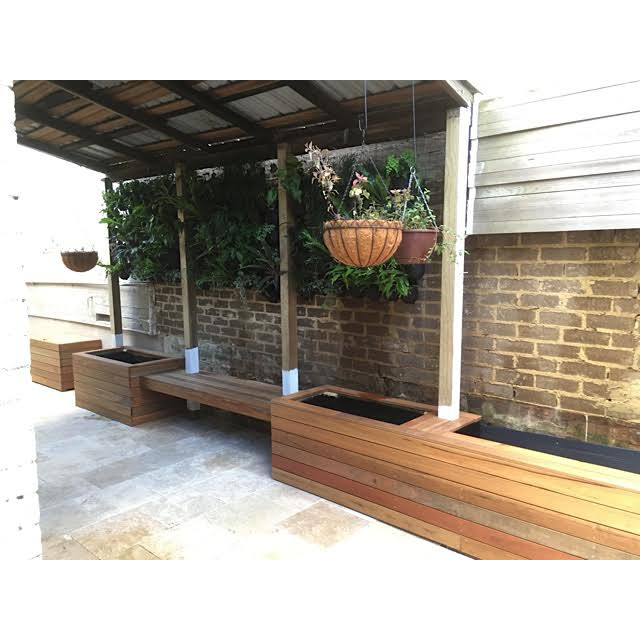 View Photo: Timber Planters in Newtown