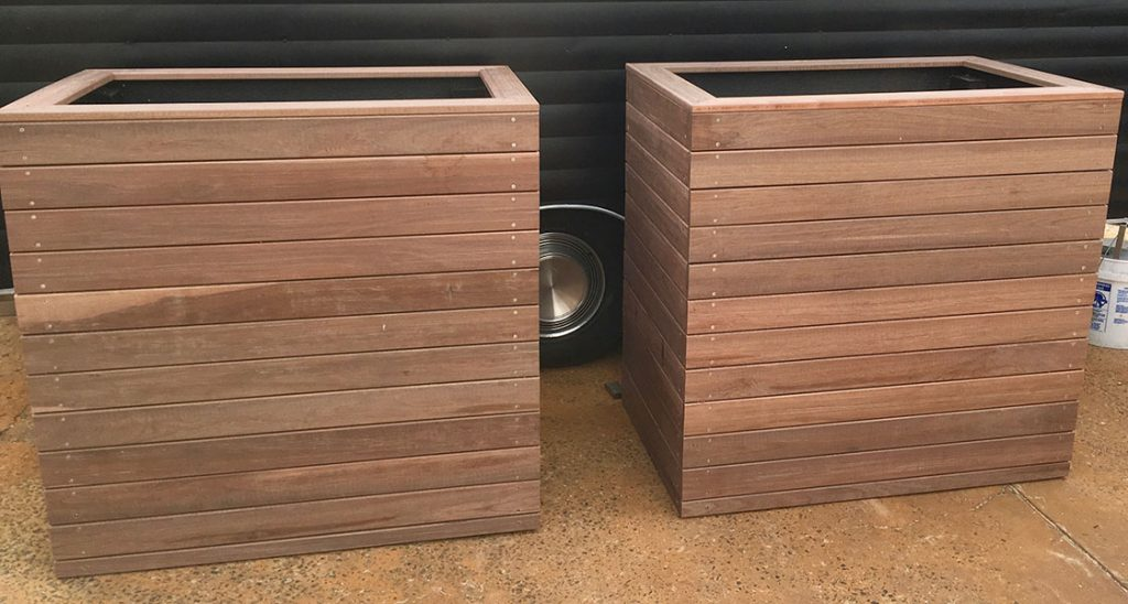 View Photo: Wooden planter boxes
