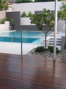 View Photo: Contemporary Glass Pool