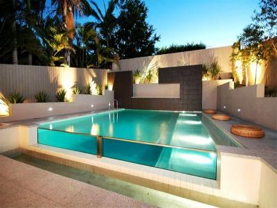 View Photo: Modern Glass Pool