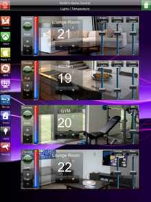 View Photo: IPad and Android Tablet Home Automation and Home Control