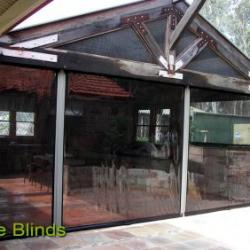 View Photo: Cafe Blinds on an Old Style Structure