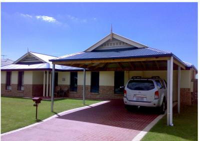 Carport & Matching Home Design