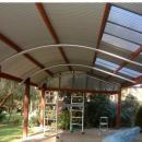 View Photo: Curved Roof Modern Design Veranda