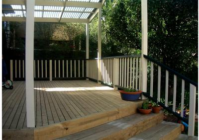 View Photo: Timber Deck & Entertainment Area