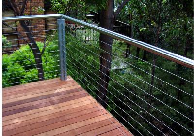 View Photo: Timber Deck with Wire Balustrade