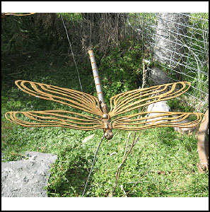 View Photo: Small Dragonfly Garden Stake