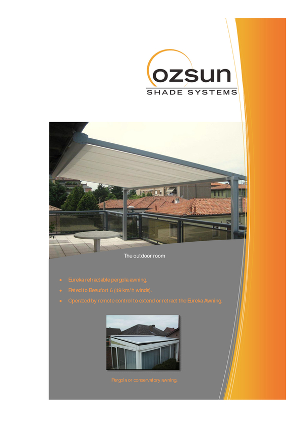 View Brochure: Eureka Retractable Awning