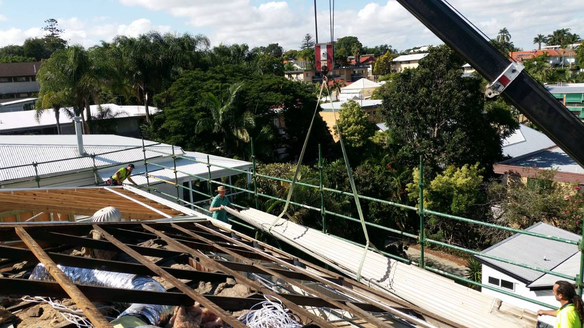 Clayfield Roofing project