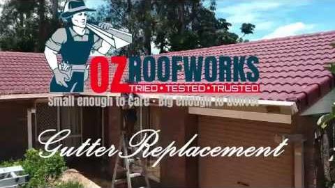 Watch Video : Guttering Springwood Brisbane - Ozroofworks