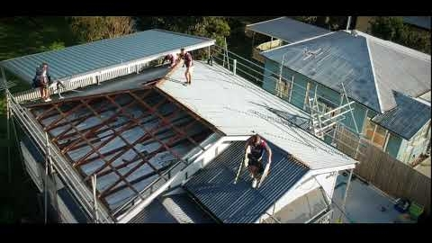 Watch Video: Metal Roofing Project Bardon | OZROOFWORKS