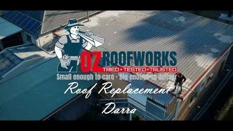Watch Video : Roofing Project Darra Brisbane – Ozroofworks