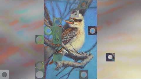 Watch Video : Pastel Art Prints - Birds
