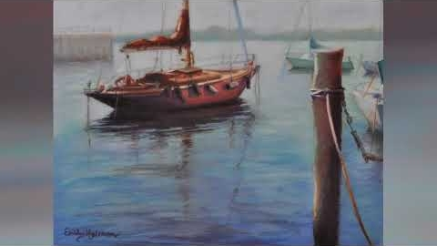Watch Video: Pastel Art Prints - Boats and Yachts