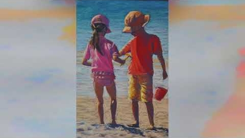 Watch Video : Pastel Art Prints - People