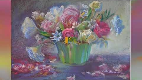 Watch Video: Pastel Art Prints - Still Life