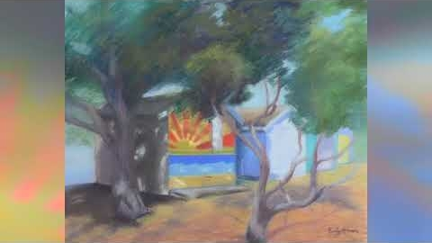 Watch Video : Progressive Pastel Paintings of Beaches