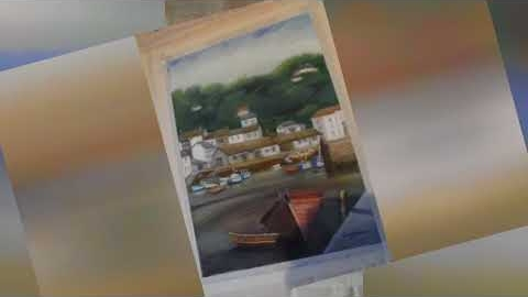 Watch Video : Progressive Pastel Paintings of Boats and Yachts