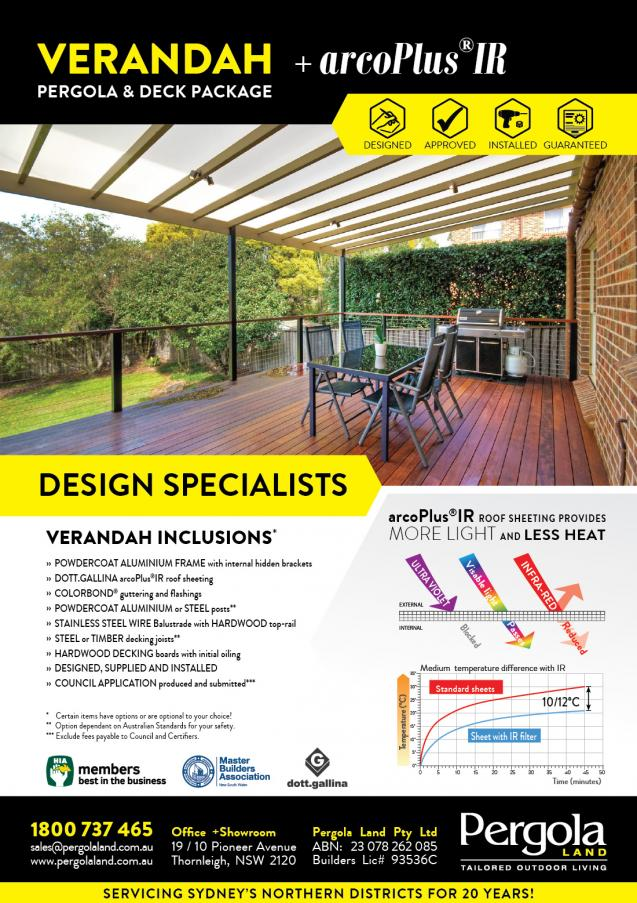 Read Article: Verandah with arcoPlus®IR