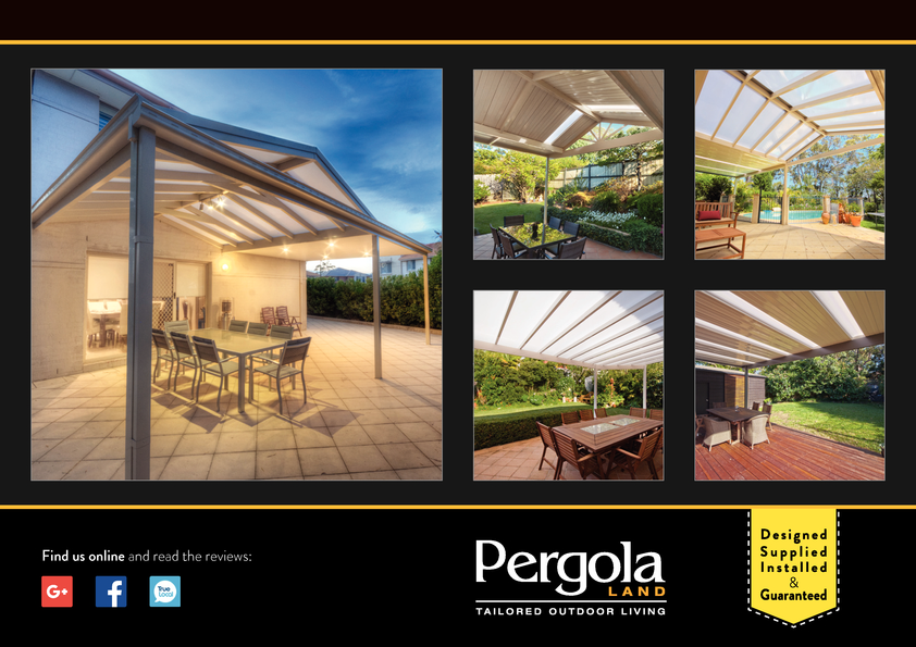 View Brochure: Take your indoor living outside