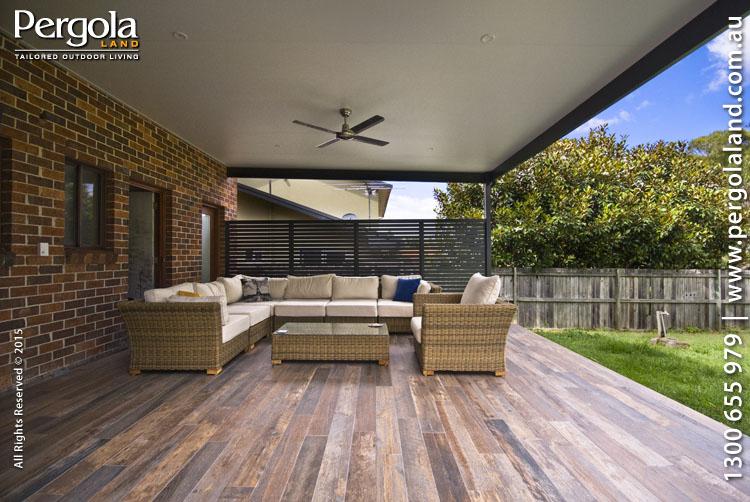 View Photo: Exterior Floor & Alfresco insulated pergola - Belrose