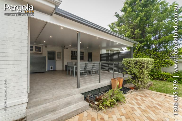 View Photo: Exterior Floor & Alfresco insulated pergola - St Ives NSW