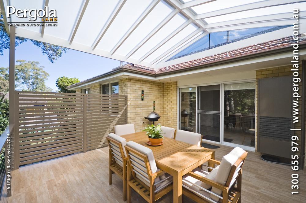 View Photo: Exterior Floor & arcoPlusIR polycarbonate pergola