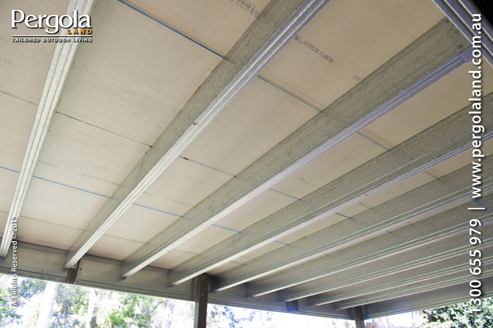 View Photo: Exterior Floor & arcoPlusIR polycarbonate pergola