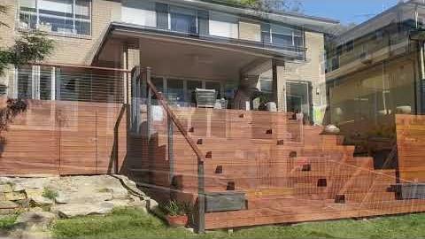 Watch Video: Pergola Land: Backyard Deck Transformation