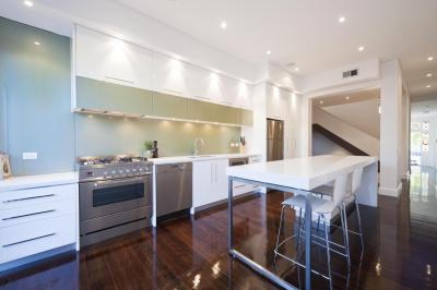View Photo: Colour Coordination between Kitchen and Home