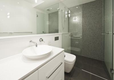 View Photo: Frameless Shower Screens Maximize Available Space