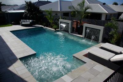 D gray jacobs ridge photo platinum pools spas p l for Pool builders yatala