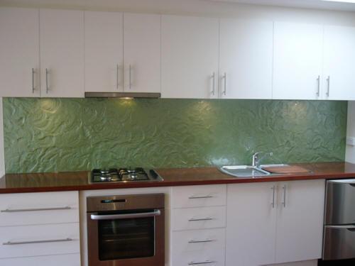 View Photo: Green Glass Splashbacks
