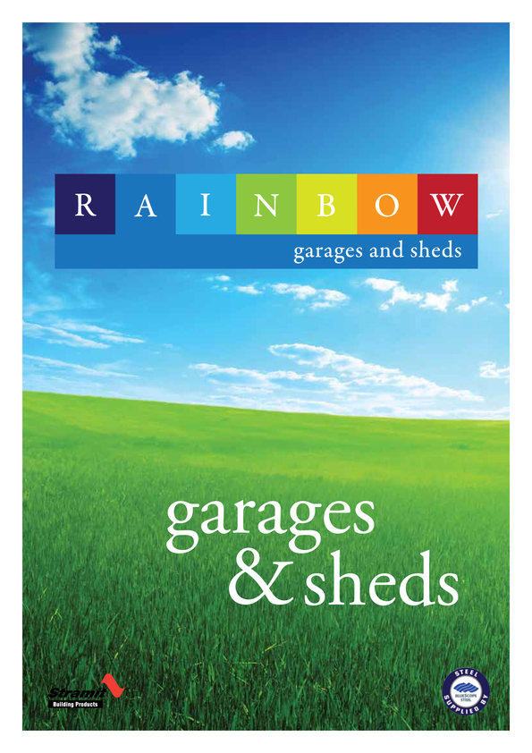 Browse Brochure: Garages & Sheds Brochure