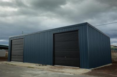 6.0m x 12.0m x 3.0m skillion shed