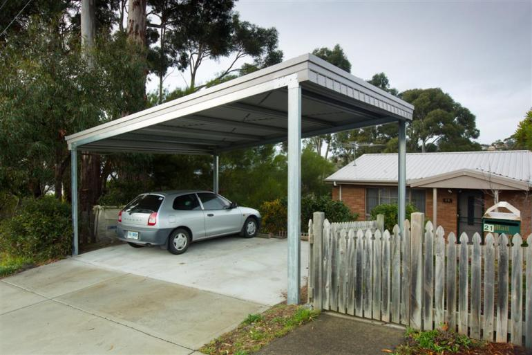 View Photo: 6.0m x 5.0m x 2.4-2.9m skillion carport